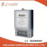 Счетчик энергии поставщика трехфазный электронный 3X220/380V LCD Cken Китая