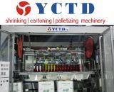 Zumo de frutas Caja de cartón automática Máquina de embalaje (YCTD-YCZX-30K)