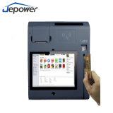 Posição sem contato do dinheiro do pagamento do cartão do cartão de crédito CI com impressora e leitor de NFC