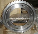 Колесо движущего механизма вковки с подвергать механической обработке CNC
