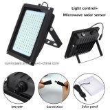 150 de la luz solar LED Sensor de radar Iluminación Exterior Reflector LED de seguridad resistentes al agua de la luz de la Ruta Jardín al aire libre