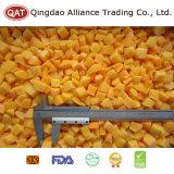 Qualität gefrorener gelber Pfirsich würfelt