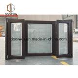 Revêtement aluminium Fenêtre de la baie Wood & Bow d'excellentes performances sur l'Heat-Insulation, insonorisées et le serrage de l'air