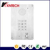 Quarto limpo com teclado plano Knzd Intercomunicador-15 Kntech
