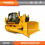 Shantui fabricante oficial de 320 caballos de fuerza de trabajo tipo de roca Bulldozer (SD32W)