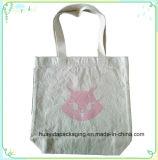 Kundenspezifischer Baumwollsegeltuchtote-Beutel, Baumwolle sackt Förderung, Baumwollgewebe-Handtaschen-Beutel ein