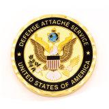 Cassa delle capsule degli S.U.A. del regalo della moneta di sfida del rame di timbratura di alta qualità