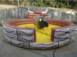 Kundenspezifisches Einschmelzen annehmen wegwischen Rodeo-Spiel aufblasbares mechanisches Bull