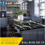 Fournisseur en pierre de partie supérieure du comptoir de quartz pour l'ajustage de précision conçu de cuisine