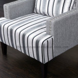 Moderner Art-Gewebe-Freizeit-Stuhl mit Nägeln