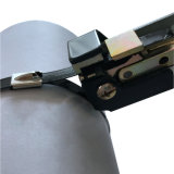 Cubierta de epoxi negro lazos metálicos 8mmx 362 mm