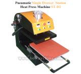 St-D3 scelgono l'illustrazione di piccola dimensione fuori dispongono la stampante pneumatica della pressa di calore della maglietta del tessuto