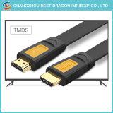 Hochgeschwindigkeitsgold überzog 6FT 2160p 2.0 4K HDMI zum HDMI Kabel mit Ethernet