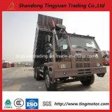 Caminhão de Tipper HOWO de uma mineração de 70 toneladas China
