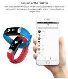 Braccialetto di vigilanza astuto impermeabile di Bluetooth con la funzione dell'inseguitore di forma fisica per il regalo CD01