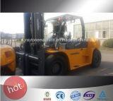 10ton de Apparatuur ISO/Ce/GOST Verklaarde LG100dt van de diesel Logistiek van de Vorkheftruck