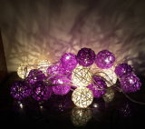 LED-Zeichenkette-Licht mit Kugel-Dekoration, Weihnachtslicht, Wedding Licht