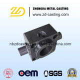 Usinagem CNC de fundição de aço de liga OEM para peça de hardware de construção