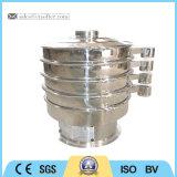 O SUS 304 Grau Alimentício peneiramento de vibração da máquina para doce em pó