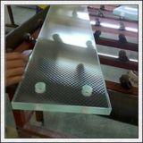 vidrio antideslizante laminado templado 6+6mm/8+8m m para el paso de progresión/el suelo de la escalera