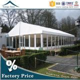 Barraca de vidro européia da cerimónia do partido do projeto 18m*25m do frame modular