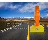 Kundenspezifischer Gelb-blinkender Verkehr der Form-LED verbarrikadiert Licht