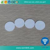 Plástico impermeable RFID Token moneda etiqueta