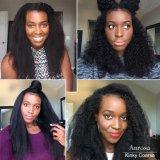 Encaixar a extensão de cabelo humano Kinky Curl 7 PCS para Cabeça completa (AV-CHL07-14-1)