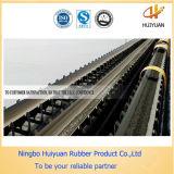 Banda transportadora enlistonada industrial resistente Ep250