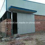 Construction en acier de niveau élevé pour l'atelier, entrepôt, immeubles de bureau en acier
