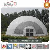 14mの直径の庭の鋼鉄測地線ドームのテント/金属の測地線ドームの温室
