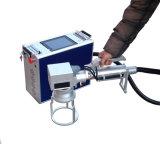 손잡을 곳 휴대용 섬유 Laser 표하기 기계