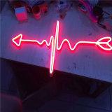 Знаки неоновых свет гибкого трубопровода напольной водоустойчивой штанги открытые СИД миниые