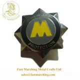 カスタム鉄の十字の円形浮彫りのタイルの星の形は順序メダルを与える