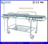 De medische Brancards van het Vervoer van het Ziekenhuis van de Noodsituatie van het Roestvrij staal van de Apparatuur Multifunctionele