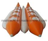 Pescados de la mosca del barco de plátano de los juegos inflables del agua