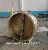 Válvula de verificação dupla da placa da bolacha de borracha do selo (H41H-16/25)