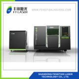 sistema completo 3015 di taglio del laser della fibra del metallo di protezione di CNC 3000W