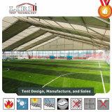Sports tenda oferecem sombra temporária para o futebol de ténis