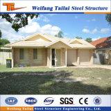 가벼운 강철 구조물 조립식 집 저가 고품질 건축재료 별장