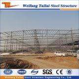 Taller de la estructura de acero del edificio de la construcción