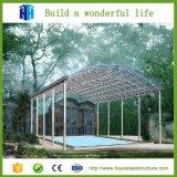 Het Geprefabriceerde huis van de Structuur van het Pakhuis van het Ontwerp van de Bouw van het Frame van de Koepel van het staal