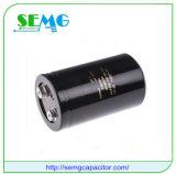 RoHS-Compatibele systeem van de Condensator van de Hoogspanning van de Condensator van het aluminium het Elektrolytische