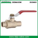 Europäischer Qualitätsschweißungs-Messing schmiedete Kugelventil (AV10082A)