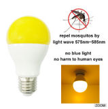 에너지 절약 9W E27 830lm Yellow Light LED Mosquito Repellent Bulb Light