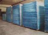 Feuille de mousse PVC orange pour la décoration intérieure de 1 à 5 mm