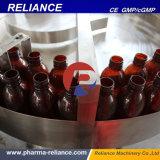 La dependencia de alimentación automática de caracol 100ml de líquido blanco de la máquina de etiquetado de limitación de llenado de botellas