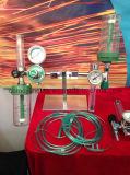 圧力計が付いている医学の酸素の吸入器は保護した