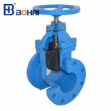 DIN F4 Non à la hausse de la tige de la valve de siège résilient