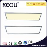 Marco blanco AC85-265V Ra>80 600X1200 de la luz de panel LED